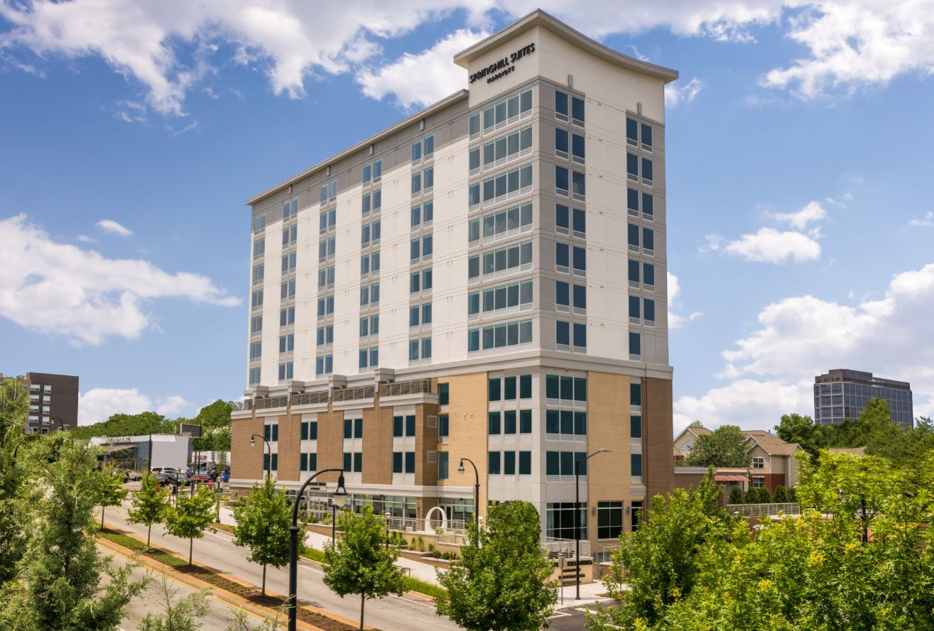 SpringHill Suites by Marriott Opens in Downtown Atlanta, Georgia
